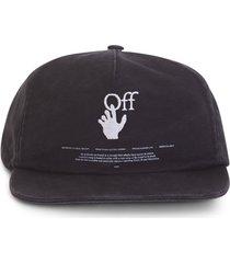 off-white hand off logo cap