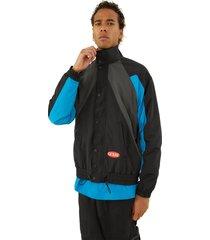 chaqueta go nylon track jacket negro guess