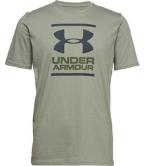 ua gl foundation ss t t-shirts short-sleeved grön under armour
