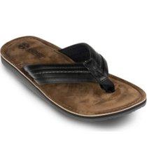khombu men's charlie thong sandals men's shoes