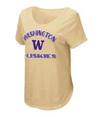 colosseum washington huskies women's maria t-shirt