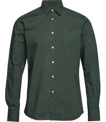 niccolo classic collar shirt overhemd casual groen morris