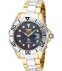 reloj invicta 16034 acero, oro acero inoxidable