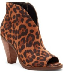 jessica simpson jillrie peep toe booties women's shoes