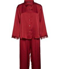 smilla pyjamas pyjamas röd missya