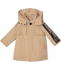 burberry removable hood jacket