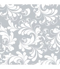 papel de parede floral boho 57x270cm - multicolorido - dafiti