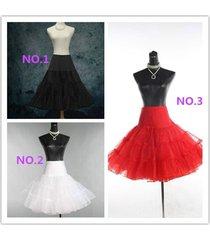 3 color wedding petticoat bridal underskirt women crinoline skirt tutu plus size