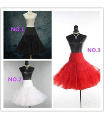3 color wedding petticoat bridal underskirt women crinoline skirt tutu plus size
