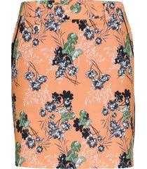 kia skort kort kjol orange röhnisch