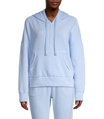 free people movement women's work it out hoodie - chaga - size xs