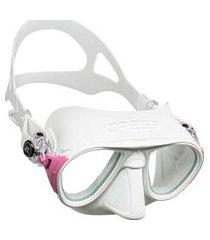 máscara de mergulho cressi calibro branco .
