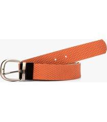 cinturón doble faz  de cuero para mujer