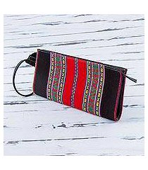cotton wristlet, 'andes fashion' (peru)