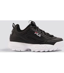 fila chunky sneakers - black