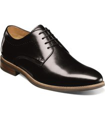 zapatos uptown plain toe oxford negro florsheim