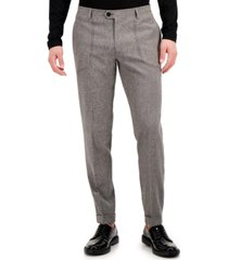 inc international concepts men's lucas cuffed slim fit pants, created for macy's