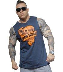 bb0f807548 Regatas - Camisetas - Malha - Azul - 11 produtos com até 49.0% OFF ...