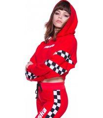 bluza czerwona checkerboard