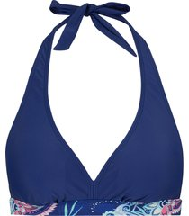 reggiseno bikini all''americana (blu) - bpc bonprix collection