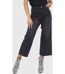 jeans brave soul negro - calce regular