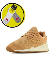 zapatilla camel new balance ms247gp