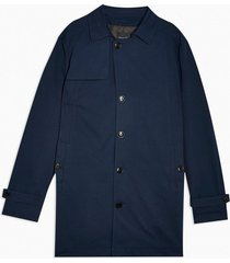 mens selected homme navy coat