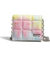 house of want h.o.w. we shop vegan leather wallet crossbody bag in dye effect at nordstrom