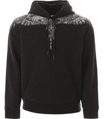 marcelo burlon camouflage wings print hoodie