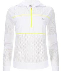 chaqueta blanco-amarillo facol