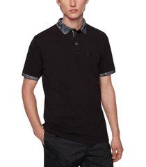 boss men's cotton polo shirt