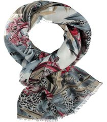 fraas jungle floral scarf