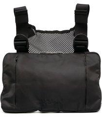 1017 alyx 9sm chest ring zipped bag - black