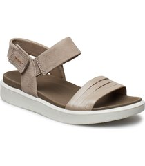 flowt w shoes summer shoes flat sandals silver ecco