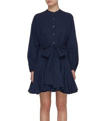 emma' dolman sleeve cotton mini dress