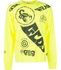 gcds all-over printed sweatshirt