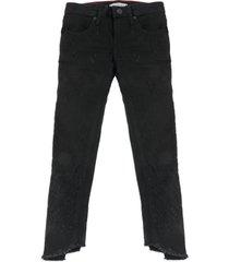 jeans negro tommy hilfiger