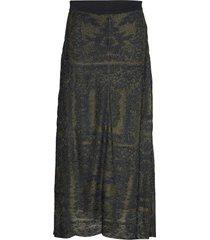 tricea knälång kjol grön by malene birger
