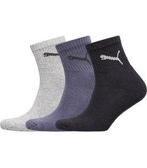 puma short crew 3p unisex underwear socks regular socks blå puma