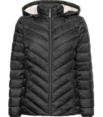 jackets outdoor woven fodrad jacka svart esprit casual