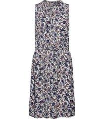dresses light woven knälång klänning blå edc by esprit