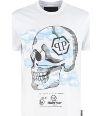 philipp plein cotton crew-neck t-shirt