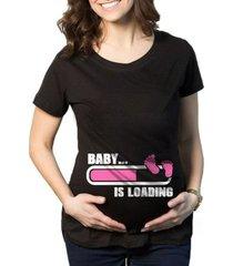 camiseta criativa urbana gestantes grávidas menina loading