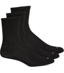 hue women's 3 pack super soft crew socks