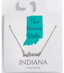 maurices womens dainty indiana necklace gray