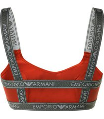 emporio armani dames bralette - paprika rood