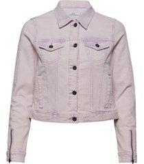 jackets indoor woven jeansjack denimjack roze edc by esprit