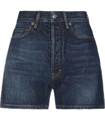 acne studios blå konst denim shorts