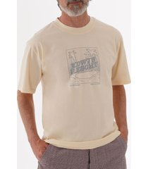 edwin resort t-shirt - vanilla i026759