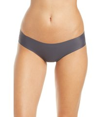 women's knix essential cheeky panties, size small - grey